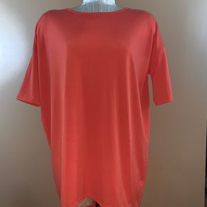 LulaRoe Irma Orange Tunic